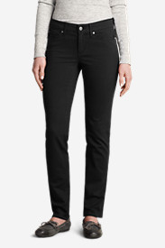 Women's Elysian Twill Slim Straight Pants - Slightly Curvy