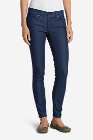 Petite Pants for Women: Women's Elysian Slim Straight Jeans - Slightly Curvy