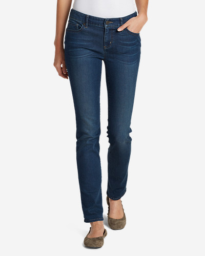 Women's Elysian Slim Straight Jeans - Slightly Curvy