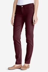 Women's Elysian Twill Slim Straight Jeans - Slightly Curvy