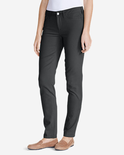 Elysian Twill Slim Straight Jeans - Slightly Curvy
