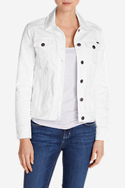 Tall Jackets for Women: Classic Jean Jacket