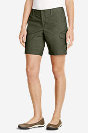 Women's Slightly Curvy Adventurer® Stretch Ripstop Shorts - 8""