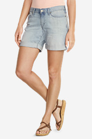 Women's Boyfriend Rolled Denim Shorts