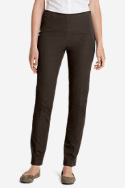 Brown Petite Pants for Women: Women's Bremerton StayShape Stretch Twill Pants