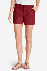 Women's Willit Poplin Shorts - Solid