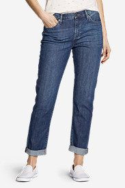 Denim Jeans for Women: Women's Boyfriend Jeans - Slim Leg
