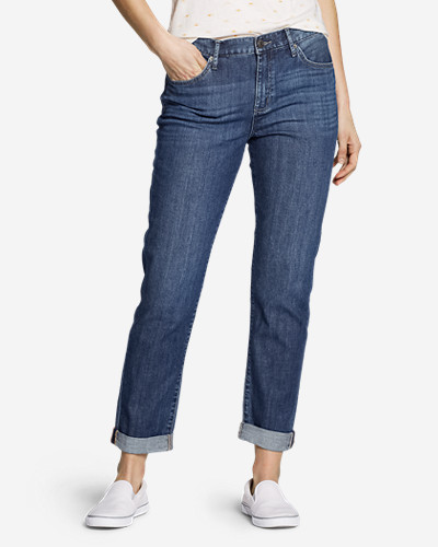 Women's Boyfriend Jeans   Slim Leg by Eddie Bauer