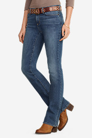 Women's Truly Straight Boot Cut Jeans