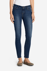 Blue Plus Size Jeans for Women: Women's Elysian Skinny Jeans - Slightly Curvy