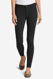 Curvy Jeans for Women: Women's Elysian Twill Skinny Jeans - Slightly Curvy
