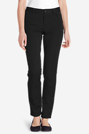 Polyester Pants for Women: Women's Travel Pants - Curvy