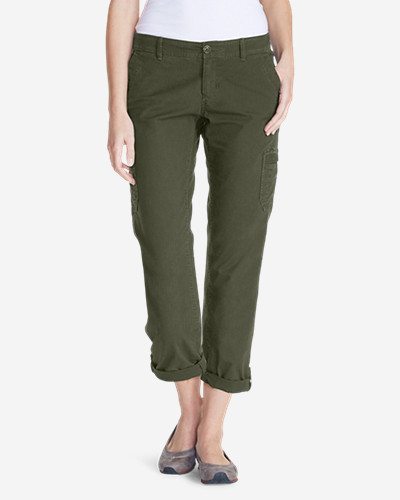 914cebf36c Eddie Bauer Women's Adventurer Stretch Ripstop Crop Cargo Pants - Slightly  Curvy   Shop Your Way: Online Shopping & Earn Points on Tools, Appliances,  ...