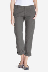 Women's Slightly Curvy Adventurer® Ripstop Crop Cargo Pants