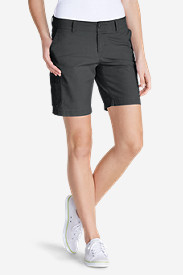 Petite Shorts for Women: Women's Slightly Curvy Adventurer® Ripstop 8' Cargo Shorts