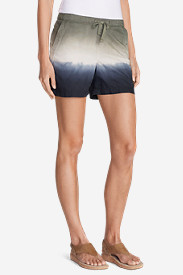 Drawstring Shorts for Women: Women's Freeland Ombr Shorts