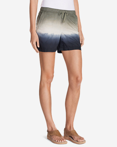 Drawstring Shorts for Women: Women's Freeland Ombré Shorts