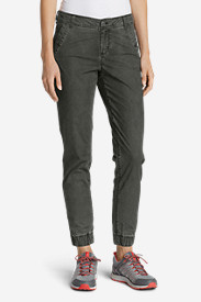 Tall Pants for Women: Women's Adventurer Ripstop Jogger Pants - Slightly Curvy