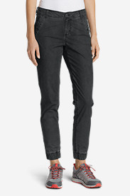 Curvy Petite Pants for Women: Women's Adventurer® Ripstop Jogger Pants - Slightly Curvy