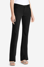 Petite Pants for Women: Women's Elysian Twill Trousers - Curvy