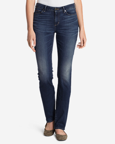 Women's StayShape Straight Leg Jeans