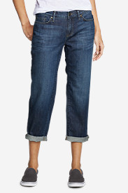Denim Jeans for Women: Boyfriend Cropped Jeans