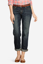 Women's Boyfriend Cropped Jeans