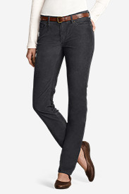 Women's Truly Straight StayShape® Corduroy Pants