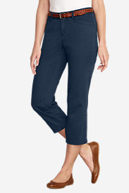 Women's Curvy Legend Wash Capris
