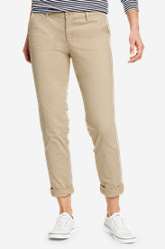 Casual Pants for Women: Women's Legend Wash Boyfriend Stretch Pants