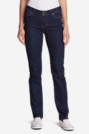 Denim Jeans for Women: Women's StayShape Straight Leg Jeans - Slightly Curvy