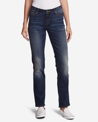 StayShape Straight Leg Jeans - Slightly Curvy