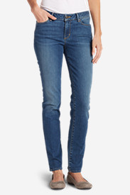 Women's StayShape Straight Leg Jeans - Slightly Curvy