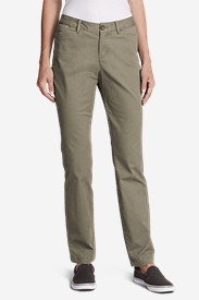 Petite Pants for Women: Women's Legend Wash Curvy Stretch Pants