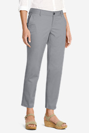Women's Slightly Curvy Perfect Twill Ankle Pants