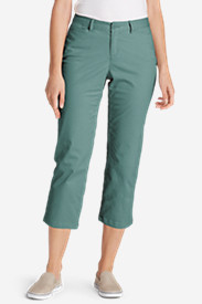 Women's Legend Wash Curvy Stretch Pants - Cropped