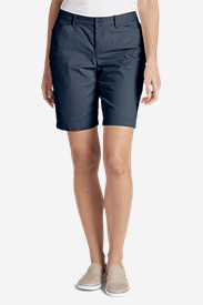 Tall Shorts for Women: Women's Legend Wash Curvy Stretch Shorts - 10'