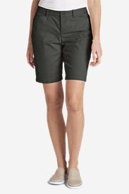 Women's Curvy Stretch Legend Wash Shorts - 10""