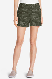 Women's Willit Poplin Shorts - Print