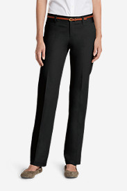 Women's StayShape® Straight Twill Pants - Slightly Curvy