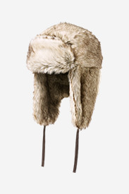 Accessories for Men: Truckee Faux Fur Trapper Hat