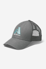 Gray Accessories for Women: Graphic Snap Back Cap - First Ascent
