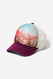 Graphic Hat - Sublimated Landscape