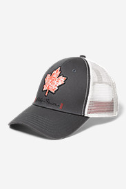 Cotton Accessories for Women: Graphic Cap - Maple Leaf