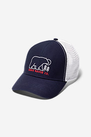 Graphic Hat - Embroidered Bear