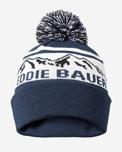 Snow Bridge Pom Beanie by Eddie Bauer