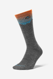 Men's Point6® Hiking Peak Light Crew Socks