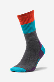 Point6 Light Hiking Crew Socks - Stripe