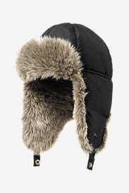 Accessories for Men: Down Aviator Hat