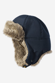 Insulated Accessories for Men: Down Aviator Hat